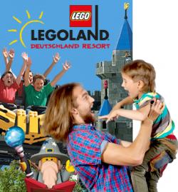 2 für 1 Gutschein für LEGOLAND, HEIDE PARK, SEALIFE, MADAM TUSSAUDS