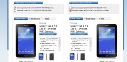 2x Samsung Galaxy Tab 3 7.0 Lite 8GB WiFi + Huawei UMTS Router für 11€ mtl.@logitel