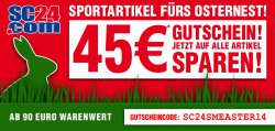 45€ Gutschein bei SC24.com – ab 90€ Warenwert