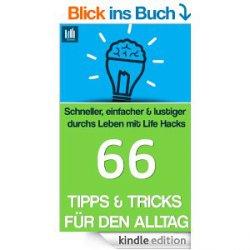 66 Tipps & Tricks für den Alltag Live Hacks von Kerstin Ordelt heute als eBook gratis