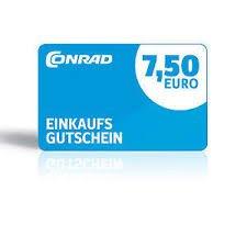 7,50€ Conrad Gutschein für kleine Umfrage @conrad.de