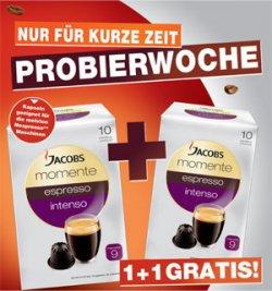 80 Jacobs momente espresso Kapseln für 11,96€ inkl. Versandkosten@ amazon