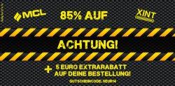 85% Rabatt auf die Marke MCL Sportswear und Xint + 5 € Extrarabattgutschein @Hoodboyz