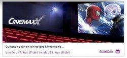 ab Donnerstag: 7 Uhr Cinemaxx Tickets bei vente-privee – 5x 2D Tickets kosten nur 28 € statt 57,50€