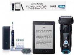 Aktion: Gratis Kindle beim Kauf eines Braun Rasieres oder Oral-B Professional Care auf Amazon.de