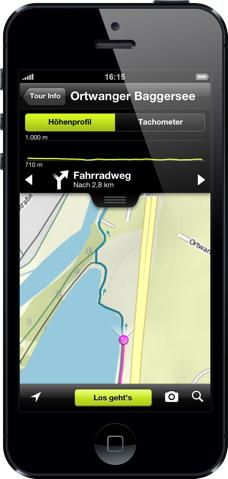 App: komoot Fahrrad- und Wandernavi mit Tourenplanung mehrere Regionenpaket im Wert von je 8,99 € gratis durch Gutschein