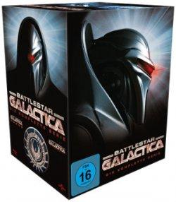 Battlestar Galactica (komplette Serie mit Staffel 1-4) auf Blu-ray für nur 36,50€ @Amazon