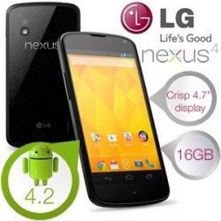 Beim iBOOD Extra: LG Nexus 4 Android 4.2 Smartphone (refurbished) für nur 199,95€ + 5,95€ Versand