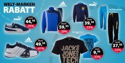 Bis zu 90% Rabatt auf auf Adidas, Asics, Bjorn Borg, Brunotti, Campagnolo und viele mehr @PlutoSport