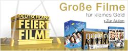 Blockbuster-Filme und TV-Serien zum kleinen Preis auf DVD und Blu-ray bei Amazon