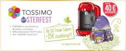 Bosch Tassimo + 40€ Gutschein + Milka Osterpaket ab 10 Treue Talern + ab 25€ Zuzahlung