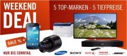 Cyberport Weekend Deal nur bis Sonntag, z.B. Toshiba 32L4333DG 32″ LED-TV für 239€ [Idealo: 286€]