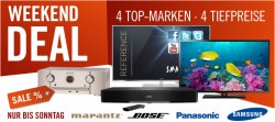 Cyberport Weekend-Deals – jedes Angebot unter Idealo Best-Preis z.B. BOSE Solo TV Sound System für 289,00 € (344,00 € Idealo)