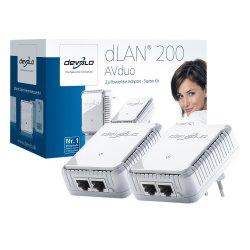 devolo dLAN 200 AVduo Starter Kit für 34,99 Euro inkl. Versandkosten (statt 73€ bei Idealo) bei Redccon