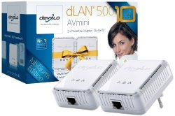 Devolo dLAN 500 AVmini Starter Kit 500 Mbit für 37,89€