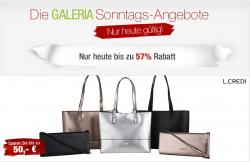 Die aktuellen Galeria Kaufhof Sonntags-Angebote