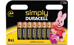 DURACELL 8er AA oder 8er AAA Batterien für 3€ inkl. Versandkosten @Mediamarkt.de
