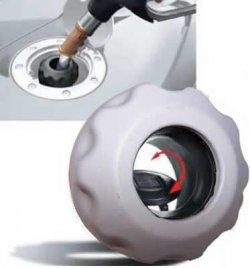Easycap Grau Tankdeckel Tanken wie in der DTM und Formel 1 für 2,90€ zzgl. Versandkosten [idealo 9,90€]