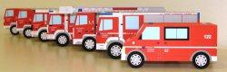 Feuerwehr Wels: gratis Bastelbögen als Download für verschiedene Feuerwehrautos