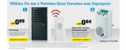 Funk – Gong für 0,99€ und Digitale Mini Zeitschaltuhr für 0,84€ zzgl. Versandkosten@ Conrad
