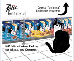 Gratis: Felix Katzenfutter von Felix über Facebook