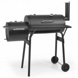 Hecht Minor Schwarz Grillwagen Minor-Smoker für 72,89€ [idealo 89,90€]@ notebooksbilliger