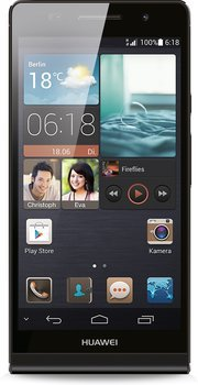Huawei Ascend P6 Schwarz Android Smartphone für 199,00 € (249,00 € Idealo) @Smartkauf