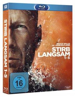John McClane ! Stirb langsam 1-5 auf Blu-ray für nur 26,97€ inc. Versand. @Amazon [Preisvergleich: 34,50€]