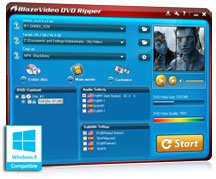 Kostenlos BlazeVideo DVD Ripper statt $39,95 @exodiasoftware