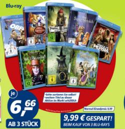 [Lokal] Disney Blu-rays ab 3 stck. für je 6,66€ statt 9,99€ @real,-