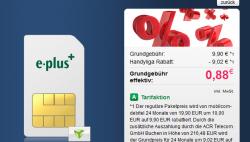 Mobilcom-debitel Talk Easy 100 für effektiv 0,88€ mtl. @Handyliga.de