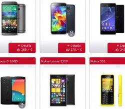 bei sparhandy.de: o2 Blue All-in-M (für junge Leute) mit versch. Smartphones für monatlich 24,99€, z.B. das Nokia Lumia 930 (+89€) [Idealo: 599€]
