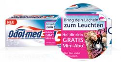 """OdolMed3 kaufen und mit Code 3 Ausgaben """"Glamour"""" gratis erhalten – Abo endet automatisch"""