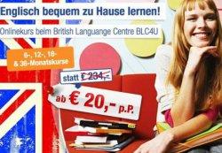 Online Englischkurs inkl. Zertifikat für 20,00 € statt 234,00 € @AbInDenUrlaub
