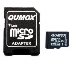 QUMOX 32GB MICRO SD MEMORY CARD CLASS 10 UHS-I für 11,20€ kostenloser Versand @ amazon
