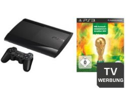 Sony PS3 500GB Konsole inkl. FIFA Fussball-Weltmeisterschaft Brasilien 2014 für nur 269€ beim saturn.de TechNik FRÜH-JA