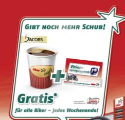star Tankstellen: Gratis Kaffee, Visirreinigungstücher und 10€ Louis Gutschein für Biker!