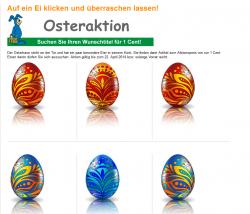 Terrashop Osteraktion: 14 Produkte auf je nur 0,01€ reduziert + 3,95 Euro Versandkosten