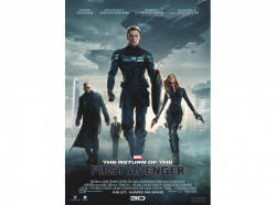 The Return of the First Avenger Poster 0,01 Euro  (statt 11,63 Euro Idealo) bei Saturn
