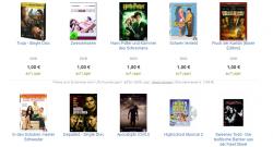 Über 8.500 gebrauchte DVDs für je 1€ + 3,99€ Versandkosten + Gutschein @rebuy