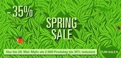 10€ Gutschein Mindestbestellwert 50€ + Spring Sale bis zu 35% Rabatt @ Allyouneed.com