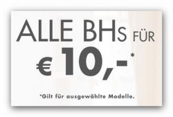118 BH-Modelle bei Beate Uhse für je 10,- € + Versandfrei durch Gutschein