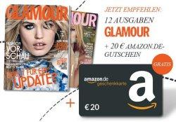 """12 Ausgaben """"Glamour"""" für effektiv 4,60€"""