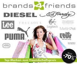 12€ Gutschein für Brands4friends – nur heute