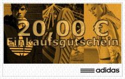 20 € Gutschein für den Adidas Online-Shop kostenlos erhalten @Telekom