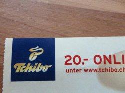 20 € Tchibo-Guthaben für 15,00 € kaufen (ohne Mindestbestellwert, nur für den online Shop) @nur10.de