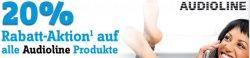 20% Prozent auf Audioline Produkte durch Gutschein bis 06.06. @conrad.de