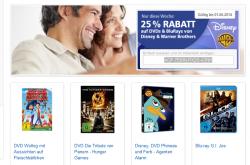 25% Gutschein auf ALLE Blu-ray und DVD´s mit Gutschein @real,-