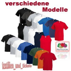 2x FRUIT OF THE LOOM T SHIRT für 1,49€ zzgl. Versand @ebay