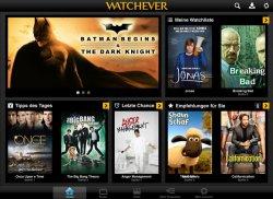 3 für 1 Aktion – bei Watchever 1 Monat 8,99€ bezahlen, 3 Monate Filme gucken